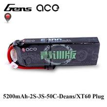 Gens ace 2 s 3 S Lipo Батарея 7,4 В 11,1 В 5200 мАч автомобиля Батарея для автомобилей 1:8 Moldes 1:10 RC автомобиля дистанционного Управление Аксессуары RC Хоббит