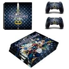 Kingdom Hearts PS4 Pro Skin Sticker Vinyl Decal