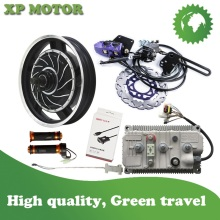 QSMotor 5000 Вт 17 дюймовый электродвигатель мотоцикла Конверсионные Комплекты с Келли синусоидальный контроллер