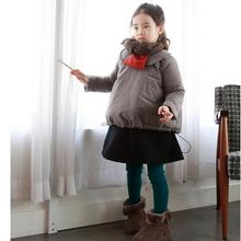 Girls Thicker Warm Jacket Outerwear 2016 Winter New Fashion Children  Clothing Kids Casual Long Hooded Dowm Coat