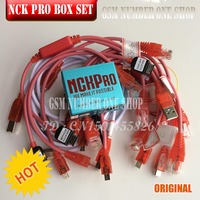 Neueste version Original NCK Pro Box NCK Pro 2 box (unterstützung NCK + UMT 2 in 1) neues update Für Huawei Y3  Y5  Y6 + 15 kabel
