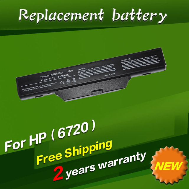 JIGU Laptop Battery For HP/Compaq 510 511 610 Business Notebook 6720s 6730S 6735S 6820S 6830S 6720s/CT 6730s/CT 500764-001