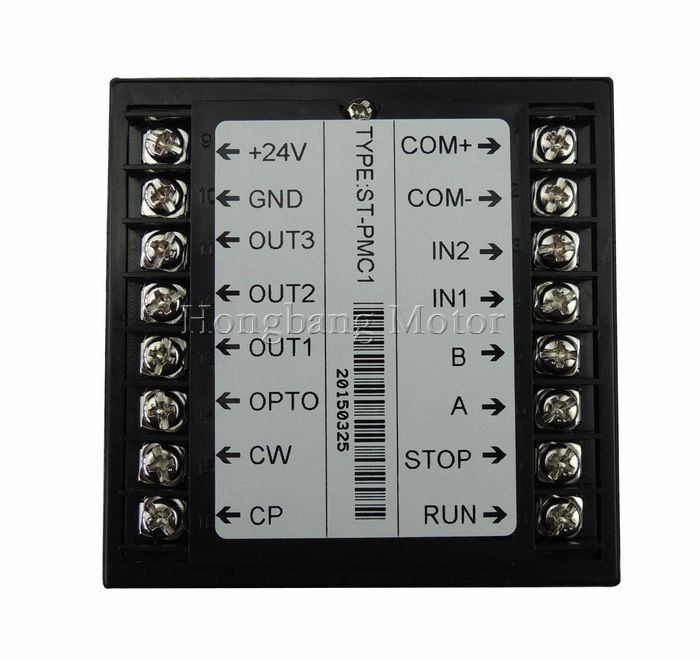 CNC Single Aixs controller kit,Stepper motor Single axis motion controller programmable ST-PMC1+ TB6600 stepper motor driver