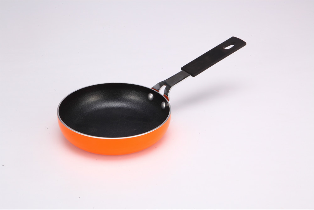 Free Shipping Mini Titanium A Small Frying Pan With No Oil