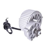 36V MY1018 450W Brush DC motor gear motor 450W Motor board 2750rpm