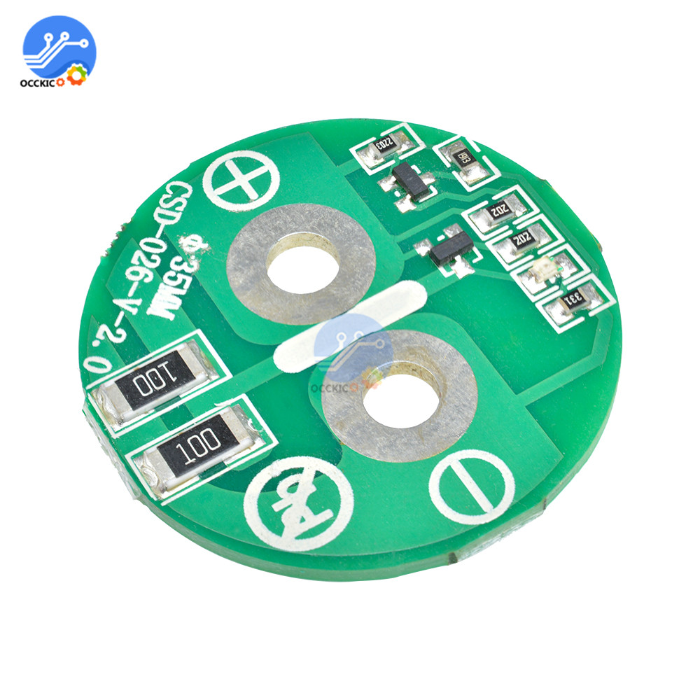 Super Farad Capacitor Protection Balancer Board 2.7V 500F 35*60mm Charge BMS Equalization Board Capacitor Charger Accessory
