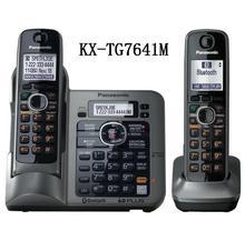 2 Teléfonos DECT 6.0 link-a-celular KX-TG7642M teléfono Inalámbrico Teléfono inalámbrico Digital