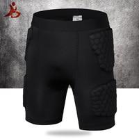 YD New Soccer Rugby Basketball Armor Short Legging Anti Crash Sportswear Short With Honeycomb Pad Basketball Shorts Sport Safety