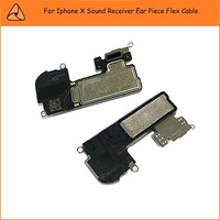 5 CÁI/LỐC Mới Đến Đối Với Apple Iphone Tai Nghe Loa Tai Mảnh Flex Cable Đối Với iPhone X Sound Receiver Sửa Chữa Phần Tàu miễn phí