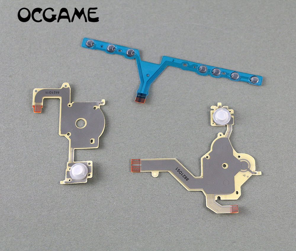 OCGAME High Quality Replacement Direction Cross Button Left Key Volume Right Keypad Flex Cable For PSP 3000 Psp3000
