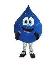 קמע תחפושת קמע טיפת מים הכחולה מהודרת מותאם אישית ערכות תלבושות אנימה קוספליי קרנבל תלבושות mascotte פנסי dress