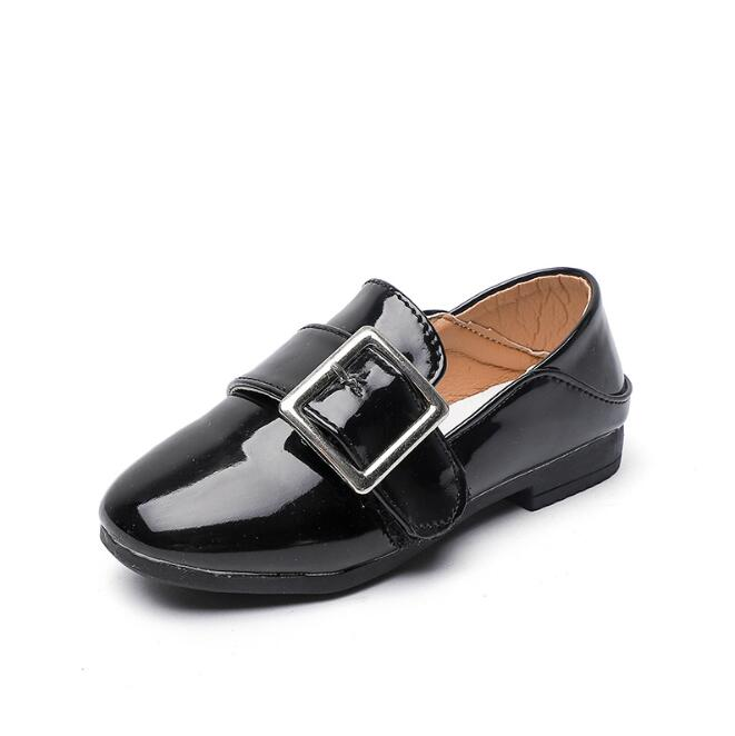 8ce1548bbd5 New Kids Leather Wedding Dress Shoes For Boys Brand Children Black Wedding  Shoes Girls Formal Wedge Sneakers-in Leather Shoes from Mother   Kids on ...