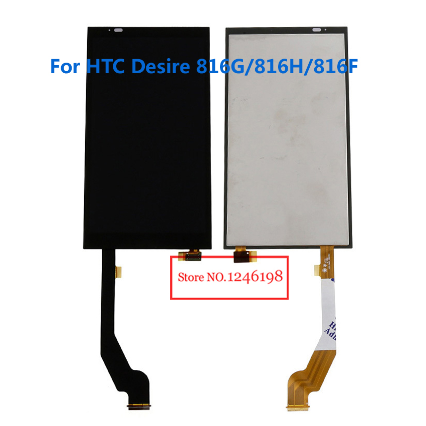 TOP Quality Full LCD Display + Touch Screen Digitizer Assembly For HTC Desire 816G/816H/816F Replacement Part Free shipping