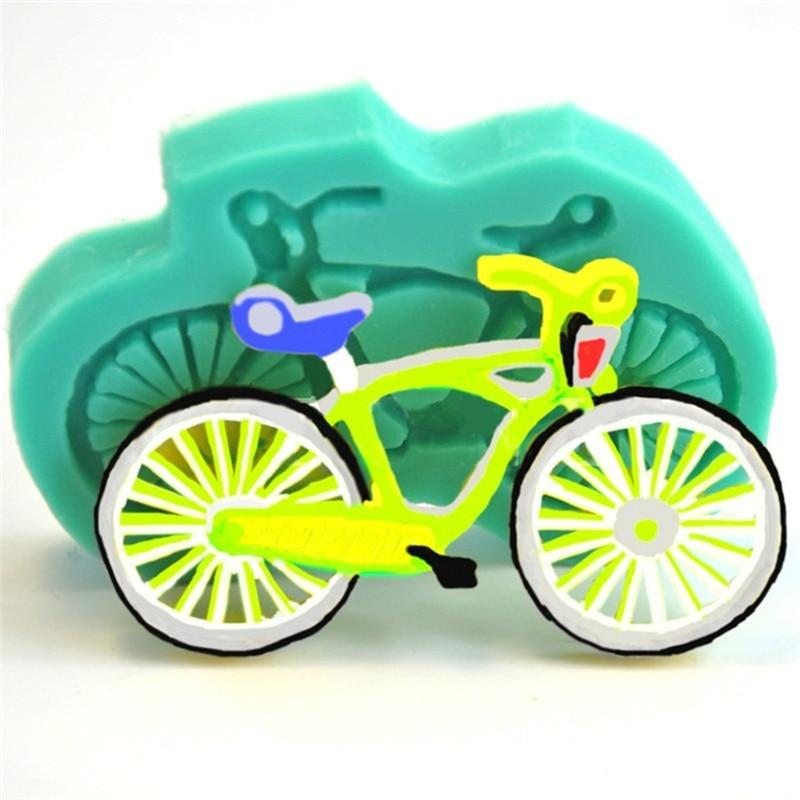 Fahrrad Form Silikonform Kuchen Fondant Paste Diy Fahrrad Form