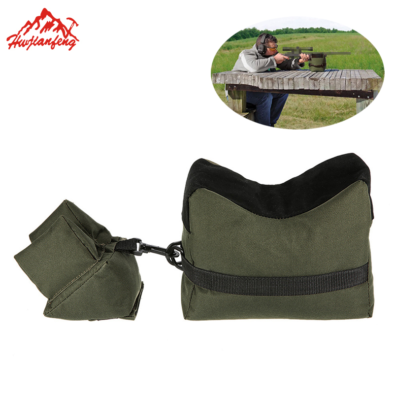 Sniper Shooting Bag Gun Front Rear Bag Sandbag Set Rest Target Stand Rifle Support Sandbag Unfilled Outdoor Tactical Hunting Bag