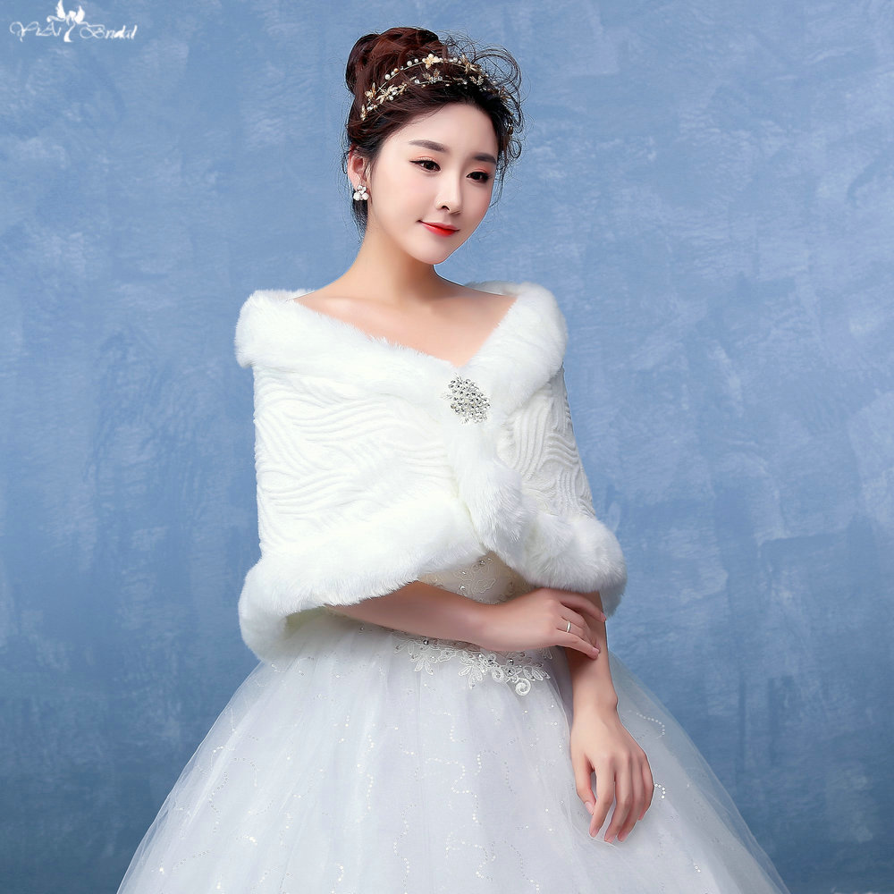 LZP137 Women Classic Off Shoulder Crystal Special Pattern Off White ...
