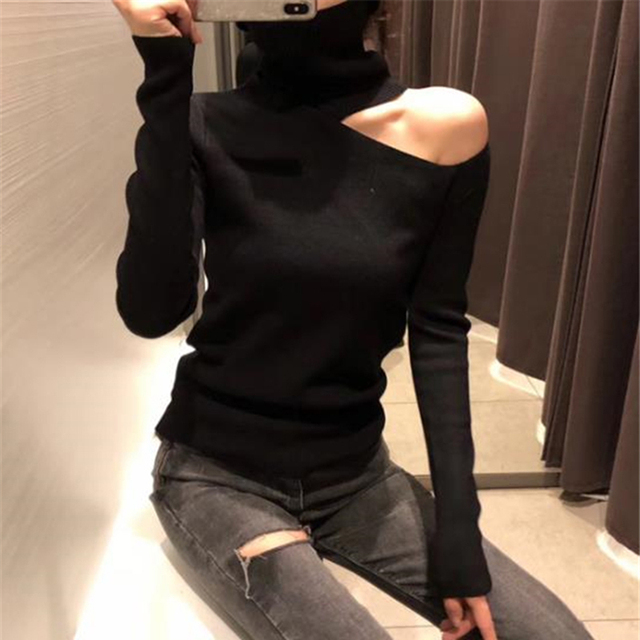 Off the Shoulder Sweater - 3 Colors 2