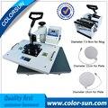 Combo 4 в 1 многофункциональный тепла пресс машина для Футболки/кружка/кубок/плиты/cap печати