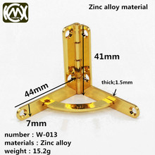 Wooden box hardware accessories Upscale cigar box hinge Luxury hinge Gift box hardware accessories W-013 10pc/lot Free screw