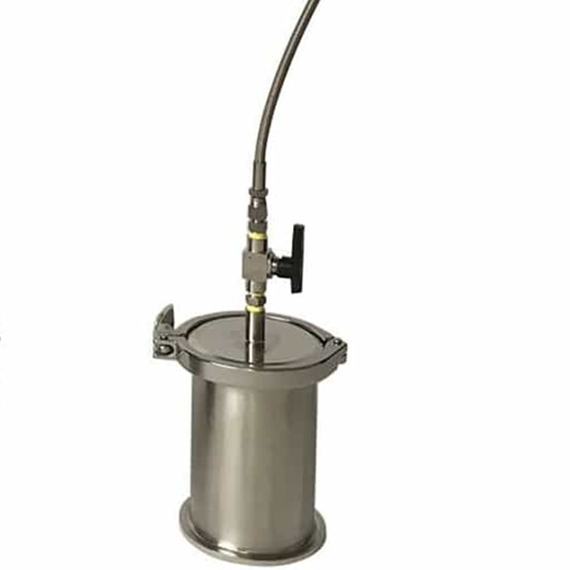 90g-135g Solvent Recovery Tank Stainless Steel 304