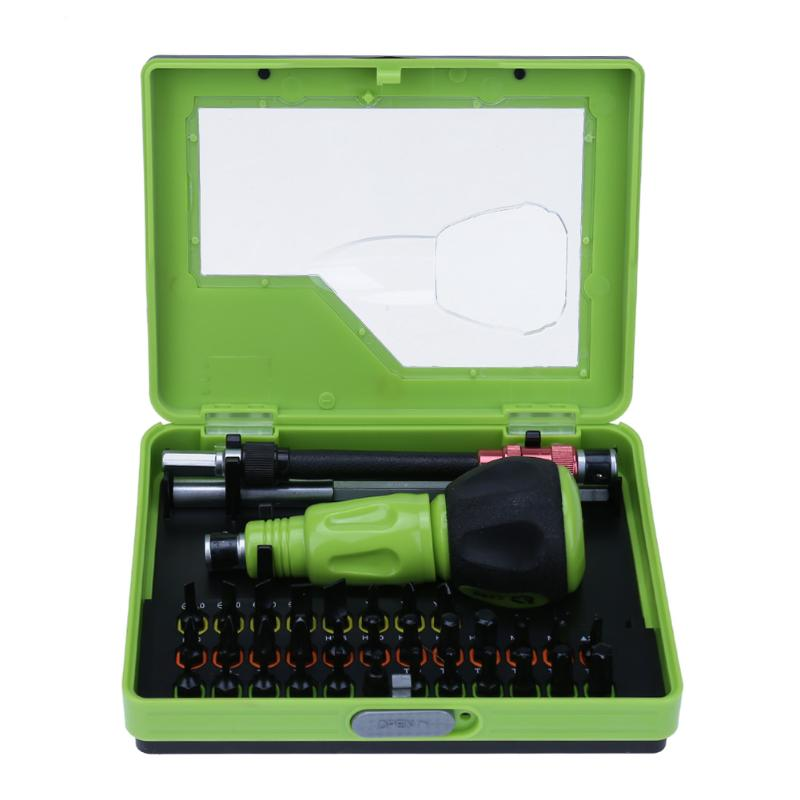 Convenient Family Must-Have Repair Tool 53 in 1 Multi-Purpose Professional Precision Screwdriver Set for Phone