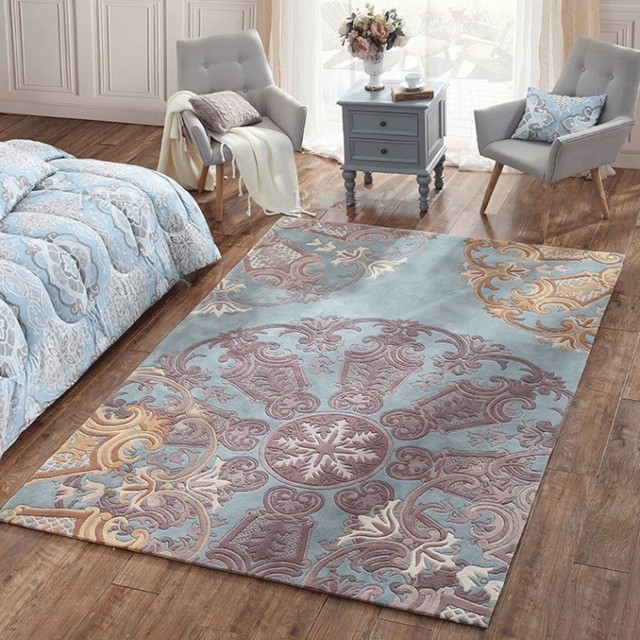 Schon Romantische 3D Muster Hochzeit Teppich, Große Größe Luxus Wolle Inhalt  Handarbeit Wohnzimmer Teppich, Home