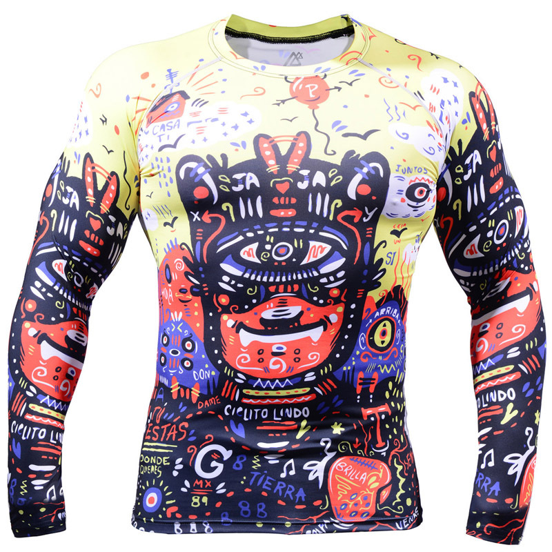 2015 font b Men b font Cycling Jersey hot Bike Bicycle Long Sleeves jersey all over