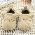 Bordado lindo de la historieta zapatos del pesebre infant toddler soft sole niños muchachas de los muchachos del bebé primeros zapatos del caminante 0-18 m