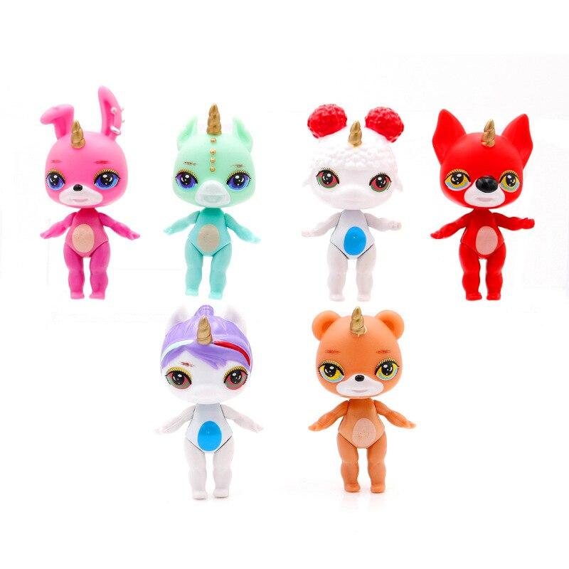 2019 New 6pcs/lot Poopsie Slime Surprise Unicorn Toys For Girls Children Interesting Toys For Child Gifts For Children Toys & Hobbies