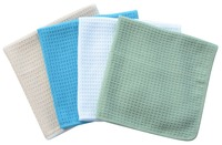 Sinland Microfiber Waffle Weave Kitchen Towels Dish Drying Fast Ultra Abersorbent 16 X16