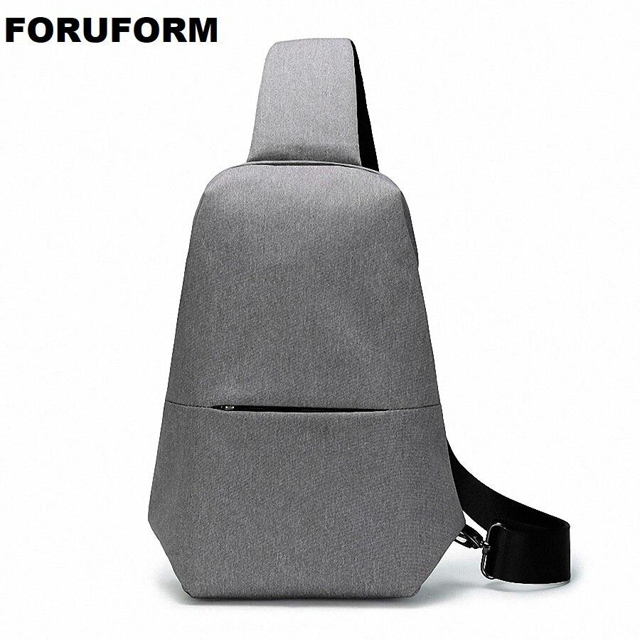 Crossbody Bag For Men Messenger Chest Bag Casual Bag Waterproof Nylon Single Shoulder Strap Pack New Fashion LI-1931