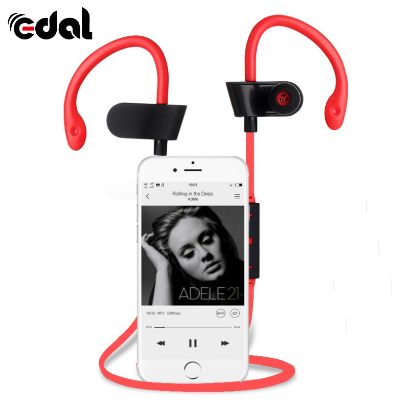 Sweat-proof Sports Stereo Headset Music Handsfree Bluetooth Headset Hands-Free Convenient Earphone
