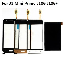For Samsung Galaxy J1 Mini Prime J106 J106F J106H J106F/DS LCD Display Screen + Touch Screen Digitizer Sensor + Adhesive + Kits samsung samsung galaxy j1 mini prime 2016 sm j106f ds black