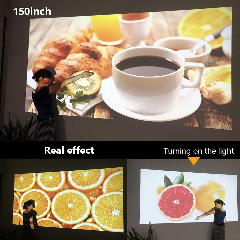 BYINTEK Mini projektör K7 ,1280x720P, akıllı Android Wifi Video Beamer; taşınabilir LED projektör için tam 1080P 3D 4K sinema, son