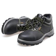 Купить с кэшбэком AC11012 Safety Shoes Women Industrial Safety Boots Men Military Steel Toe Boots Woman Special Shoes Steel Toe Safety Footwear -W