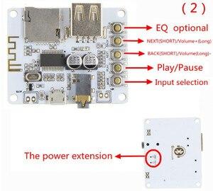 Image 5 - Bluetooth Audio tablica odbiorcza z USB gniazdo karty TF odtwarzanie dekodowania wyjście przedwzmacniacza A7 004 5V 2.1 bezprzewodowy muzyka Stereo moduł