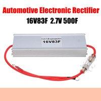 Automotive Electronic Rectifier 16V83F 2.7V500F Super Farad Capacitor for Automotive Start up Restart With Aluminum Shell