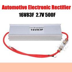 Elektroniczny prostownik samochodowy 16V83F 2.7V500F Super Farad kondensator do rozruchu samochodowego Restart z powłoka aluminiowa