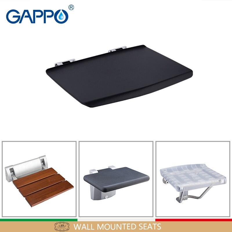 GAPPO Wall Mounted Shower Seats Bathroom Chair Folding Shower Chair For Children Folding Chairs Bath Chair Shower Seat
