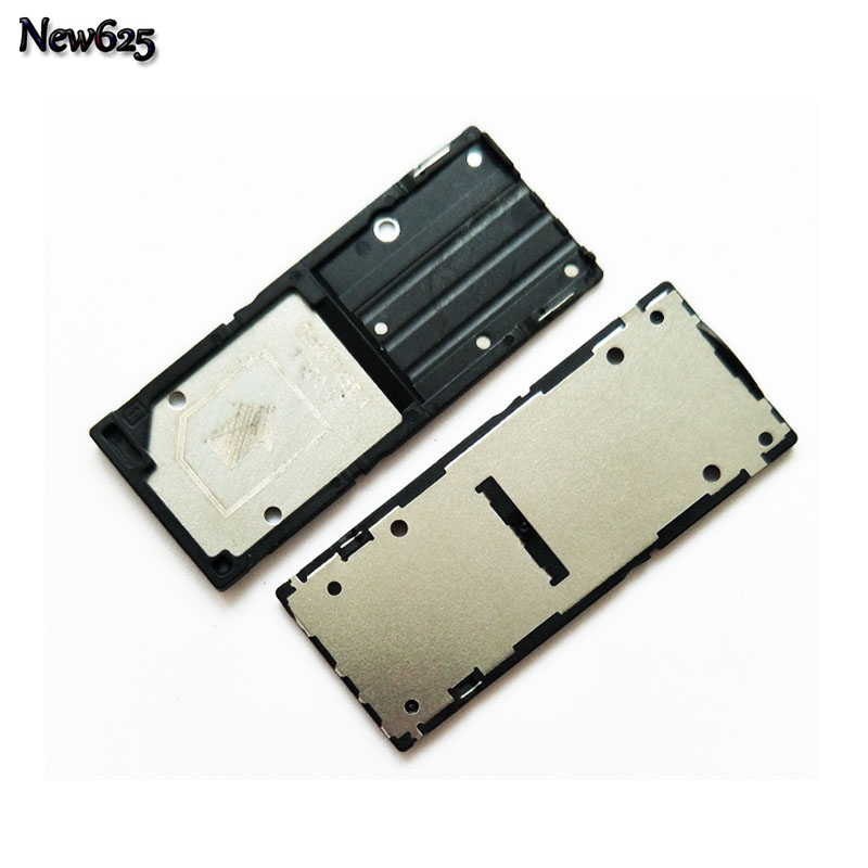 Original New Sim Tray Holder For Sony For Xperia C3 Single Dual SIM Card Reader Tray Holder Slot Replacement