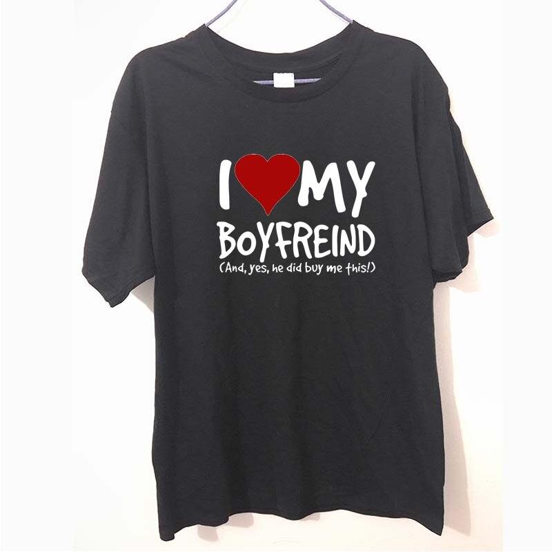 Property Of My Boyfriend Mens Funny Unisex T-Shirt