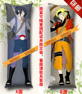 Anime Hugging Bady Pillow Case --150*50cm NARUTO Uzumaki Naruto