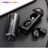 Felyby Air-8Wireless binaural fone de ouvido bluetooth