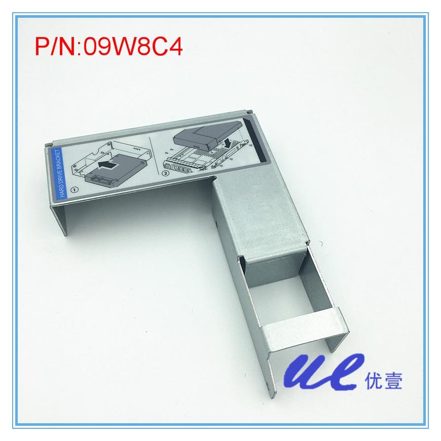 09W8C4 3.5-2.5 Adapter merevlemez tálca F9542, F238F, 3.5-2.5 konvertáláshoz caddy tartókeret szabad szállítás