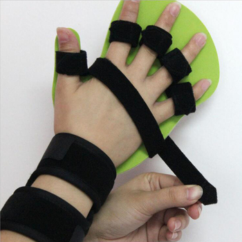 Dorosłych dzieci ręcznie orteza nadgarstka oddzielne palec Flex Spasm rozszerzenie pokładzie szyna apopleksja Hemiplegia prawy lewy mężczyźni kobiety