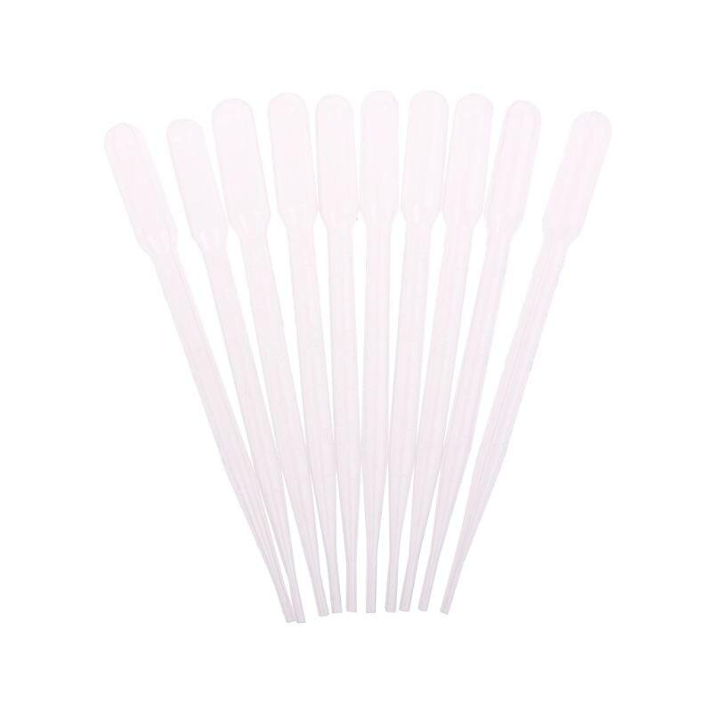 10Pcs 3ml Mini Plastic Perfume UV Glue Disposable Dropper Diffuser Bottle Liquid Sucking Tube Lab Home DIY Supply