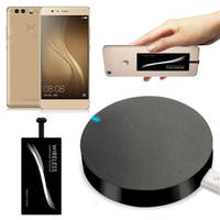 Del Qi Wireless Charger Pad Type C Wireless Charger Sticker Receiver For OnePlus 2 Two JSZ1230