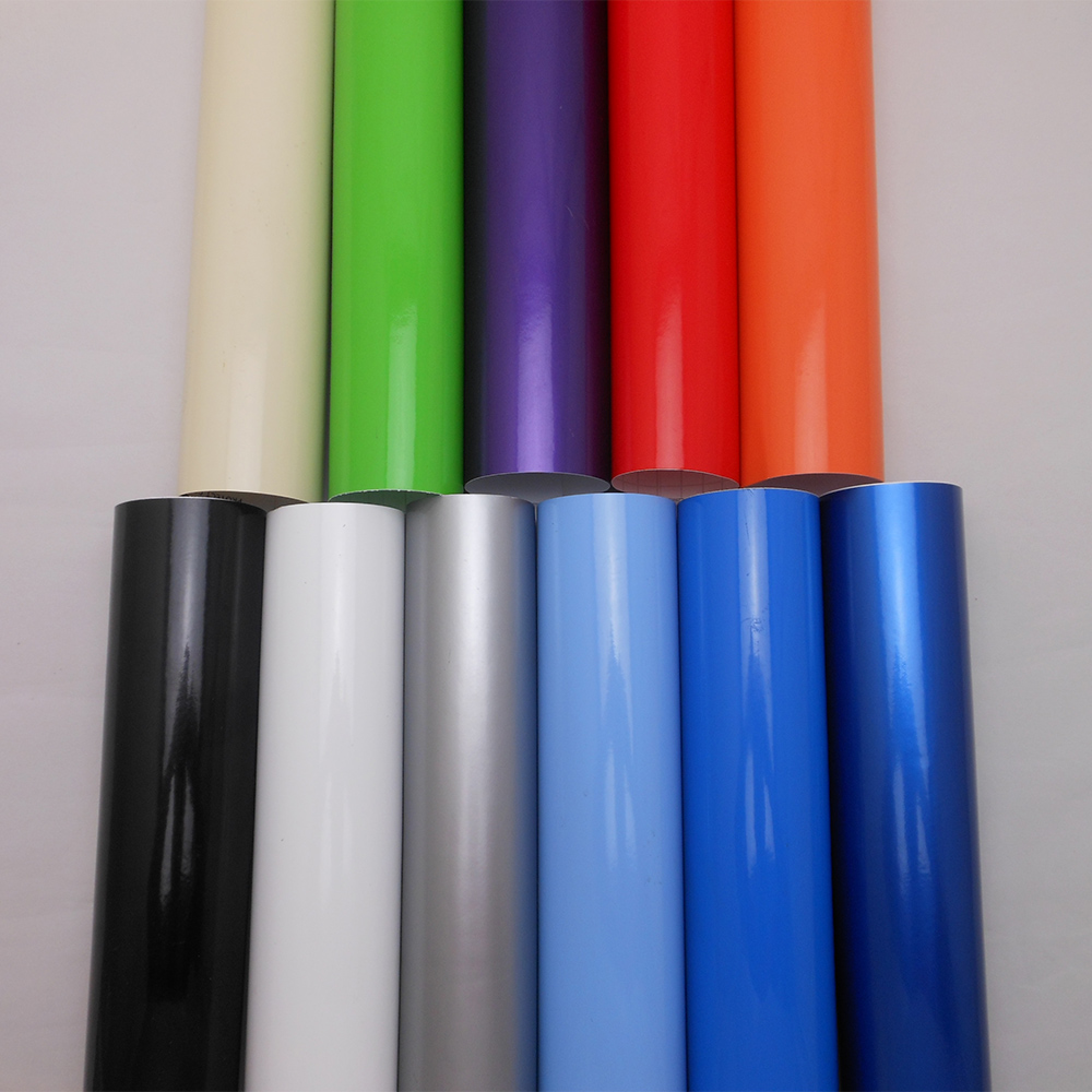 size :1.52*3m/5m/10m/15m High Quality Retail Glossy Car Wrap Sticker Film Foil With Air Bubble Free for Car Cover Color Change matt orange auto turning foil repacking film with air free bubble and high polymer pvc material car body color change film