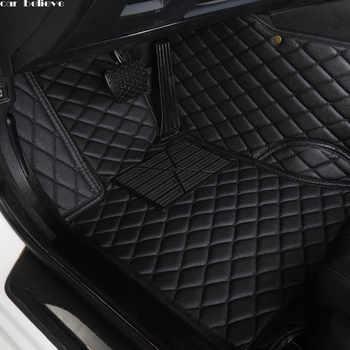 Car Believe Auto car floor Foot mat For skoda superb 2017 3 kodiaq yeti octavia rs 1 fabia 3 karoq rapid 2017 car accessories - DISCOUNT ITEM  50% OFF All Category