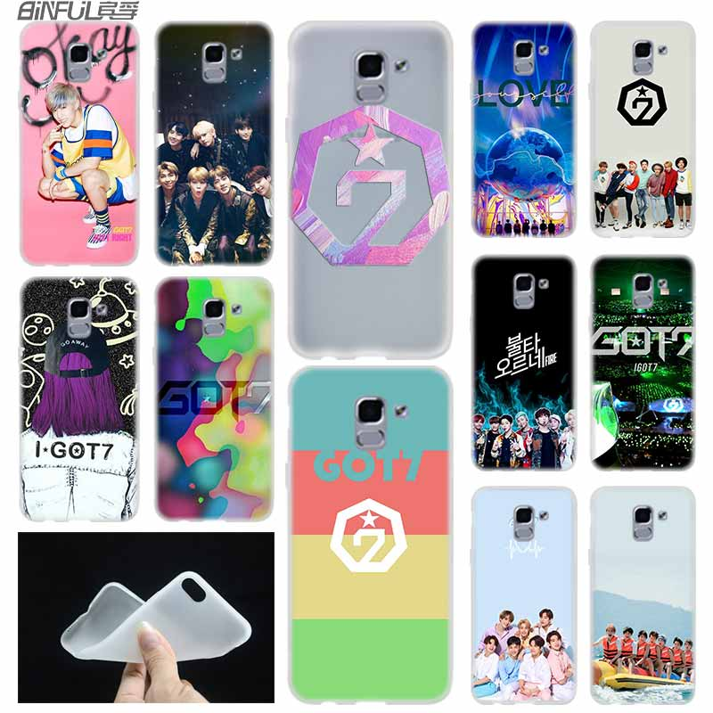 got7 <font><b>kpop</b></font> Mark case Cover TPU Silicone <font><b>Coque</b></font> For <font><b>Samsung</b></font> Galaxy <font><b>J6</b></font> J8 J3 J5 J7 J4 J2 J1 <font><b>Plus</b></font> 2018 2016 2017 EU Prime Ace image